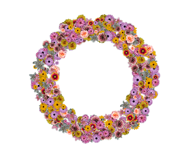 věnec z květin