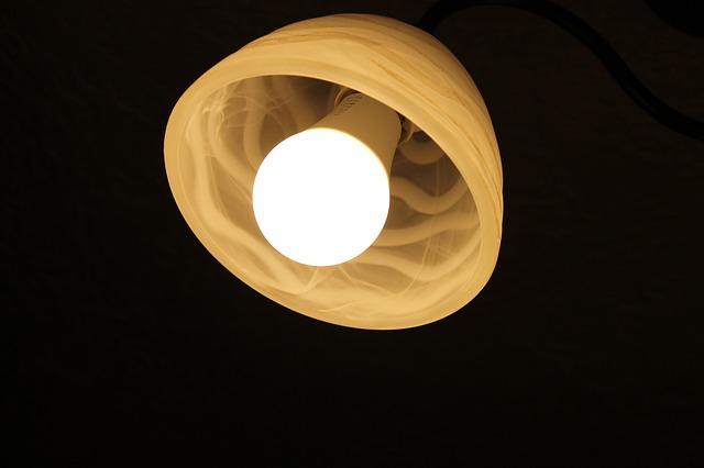 fluorescenční světlo