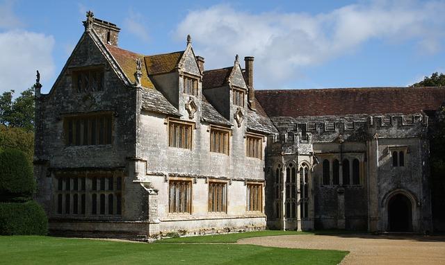 zámek v Anglii