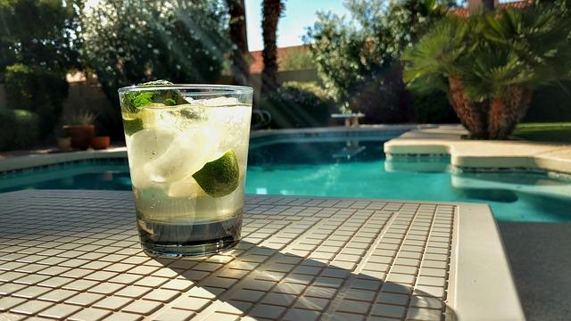 letní nápoj